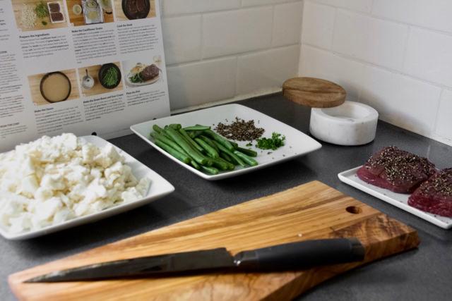Steak au Poivre Ingredients Home Chef