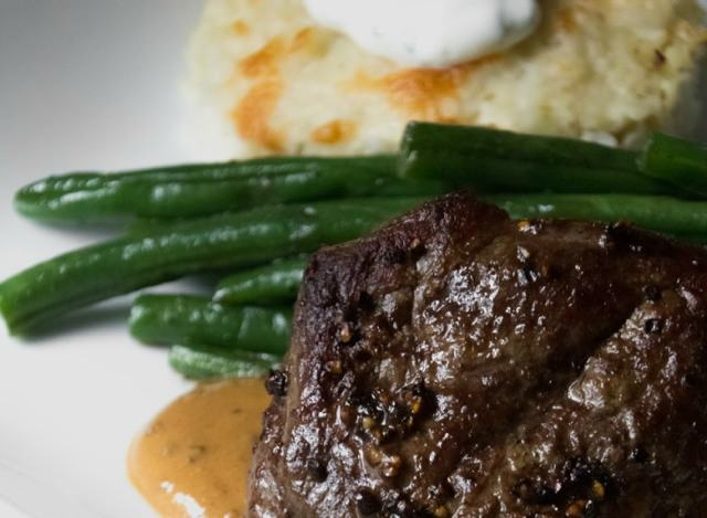 Steak au Poivre and Cooking with Home Chef