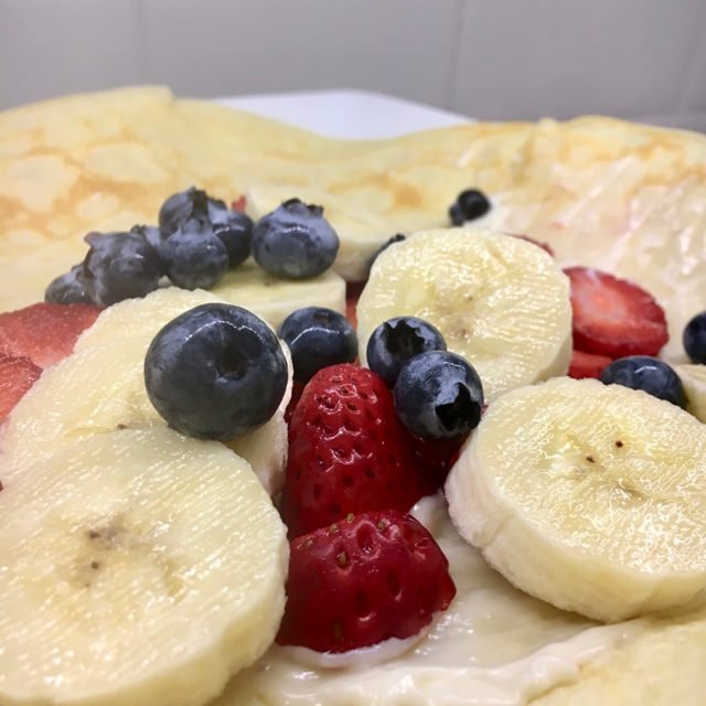 Banana Berry Crepe
