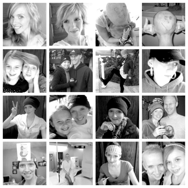 Breast Cancer patient collage