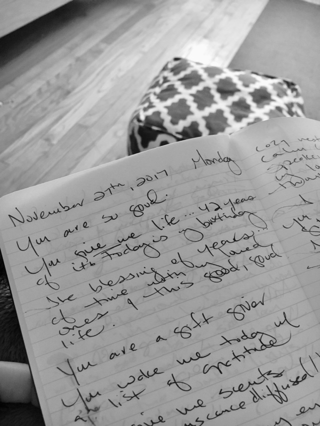 Morning Pages --Write 3 pages, in the morning, about anything you want.