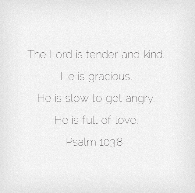 Psalm 10 He is full of love.