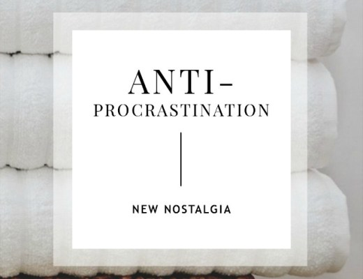 Anti-Procrastination Encouragement, Weekly Goal Setting & Free Printable