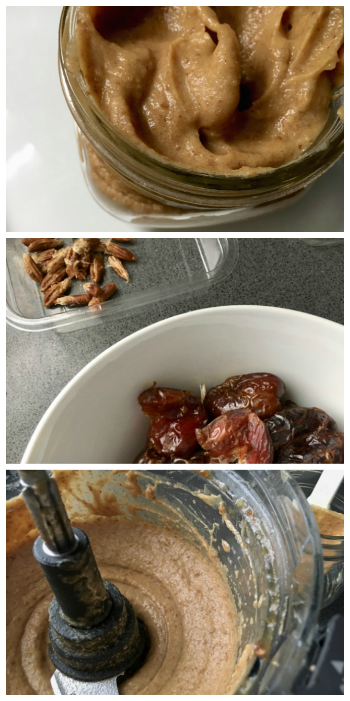 Medajool dates soaking in a bowl