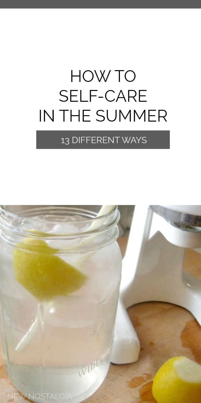 mason jar of lemon water