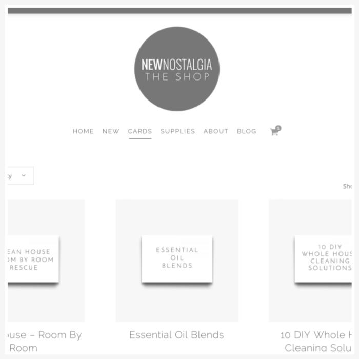 new nostalgia online shop