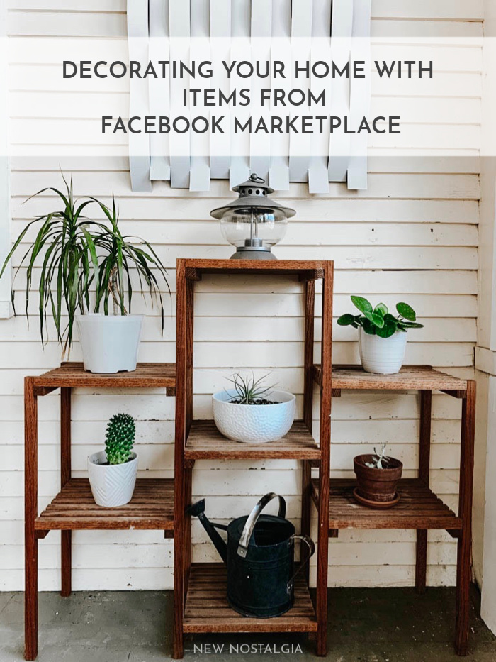 Decorating Your Home with Items From Facebook Marketplace