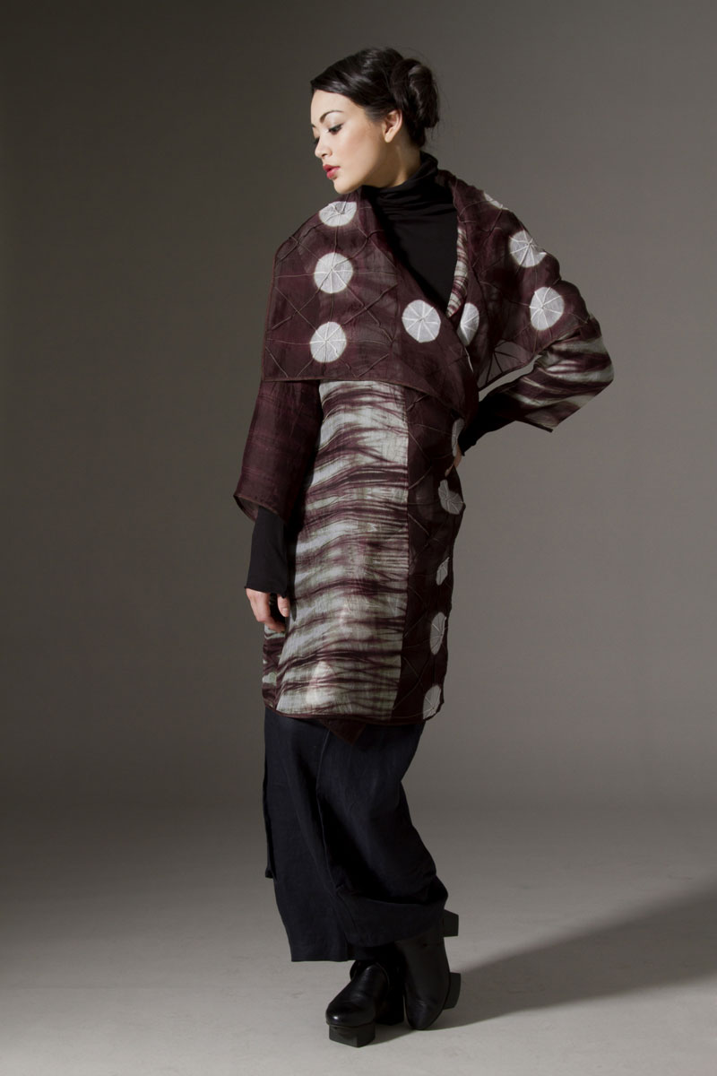 Amy Nguyen Textiles - Iki - Sheer Fitted Coat