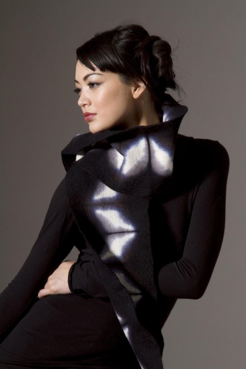Amy Nguyen Textiles - Iki - Nuno Scarf