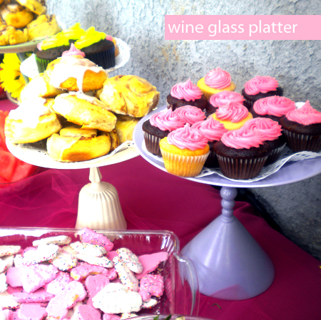 wine glass platter- amy+mayd