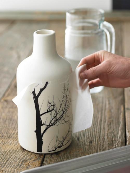 Ceramic Vase DIY