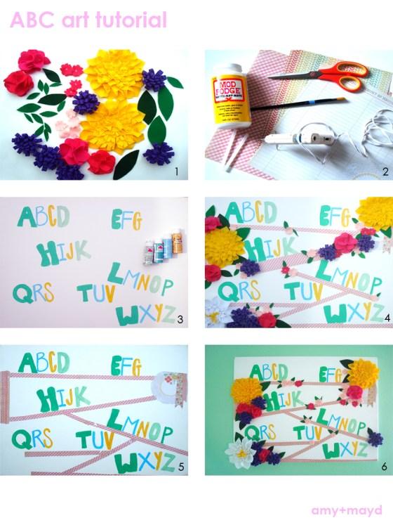 ABC Art tutorial