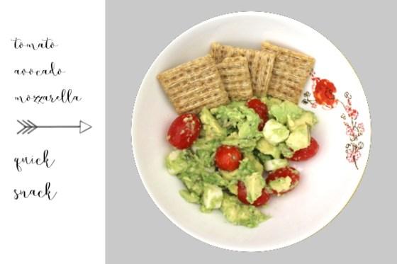 avocado quick snack