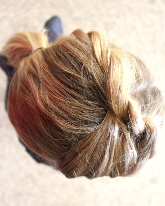 Side Pony detail