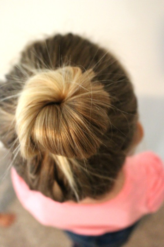 ballet bun