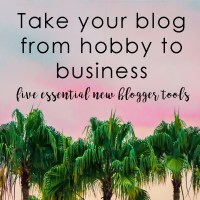 Five essential new blogger tools that will take your blog from hobby to business.. These are the tools that I used to grow my traffic and establish my blog.
