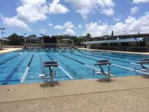 Gulliver Swim Club pool set for long course.