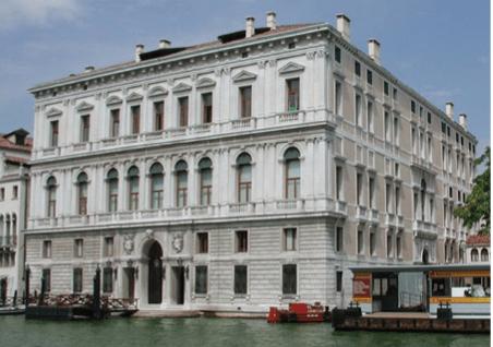 The Palazzo Grassi in Venice.