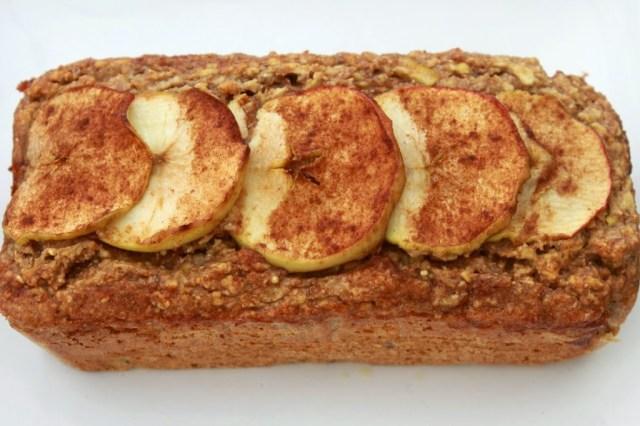 Apple and cinnamon breakfast loaf