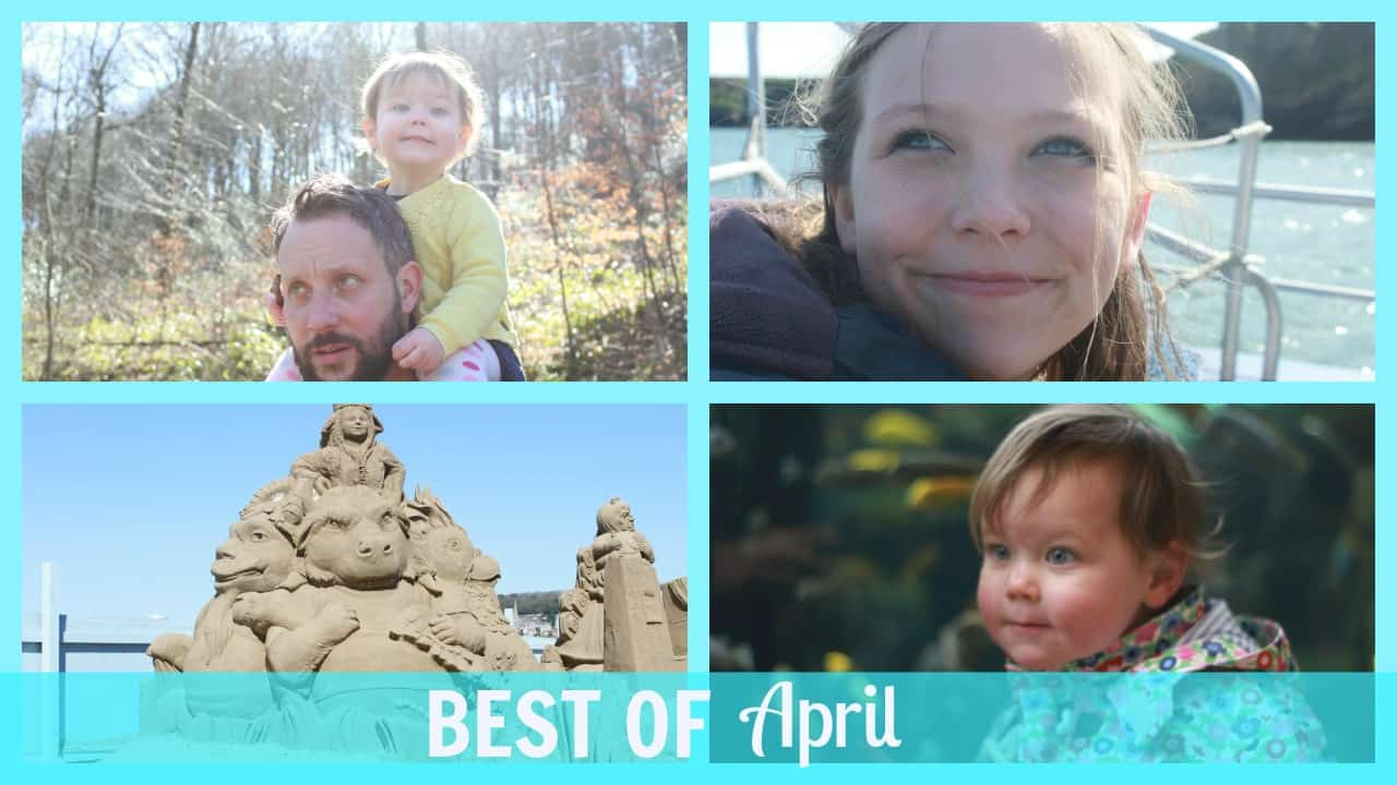 Best of April-a collection clips from Mr and Mrs T Plus Three