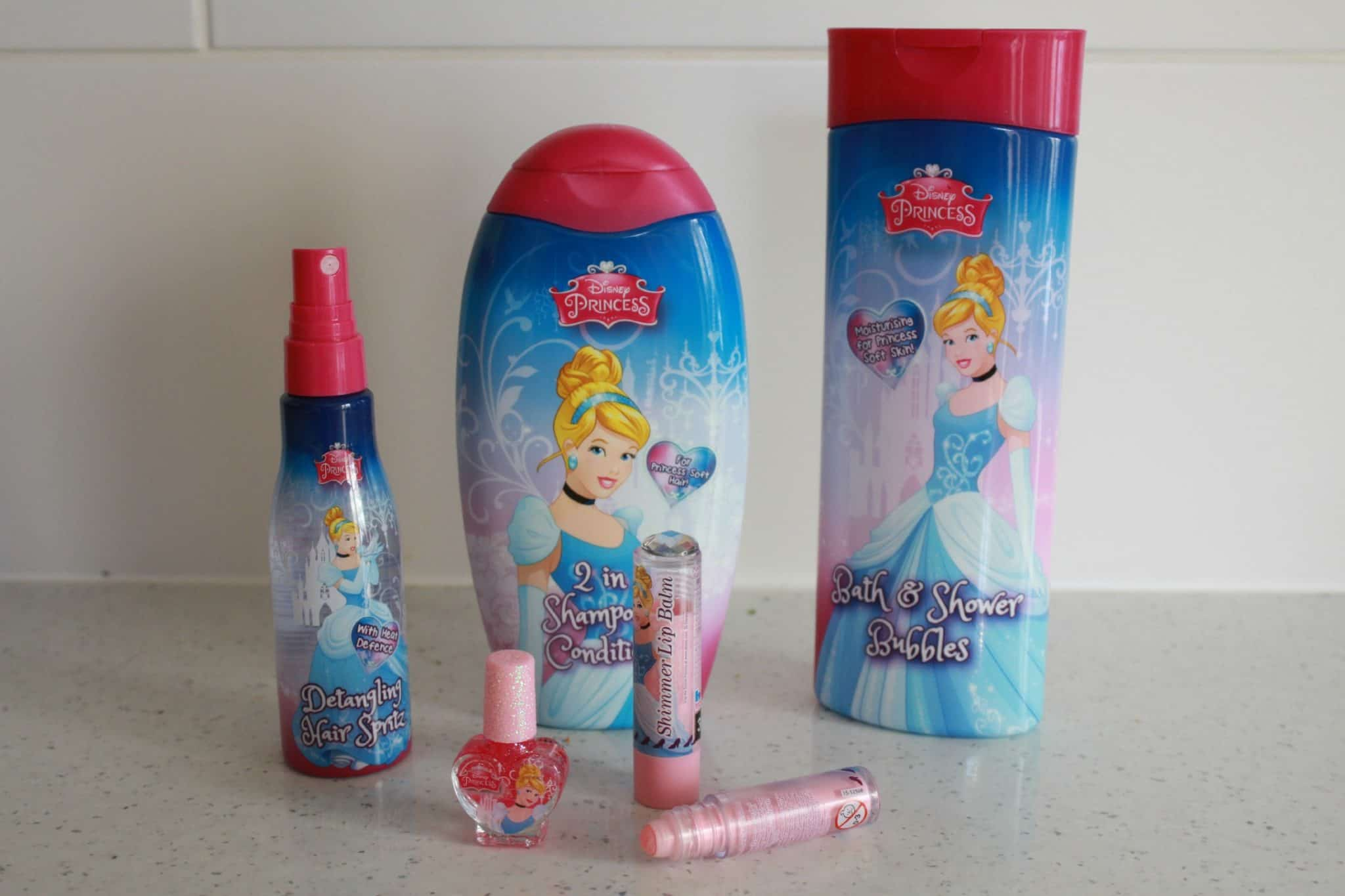 Cinderella bath set