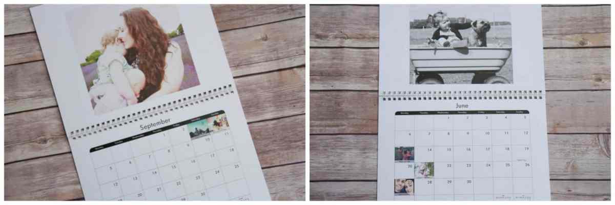 Snapfish personal calendar