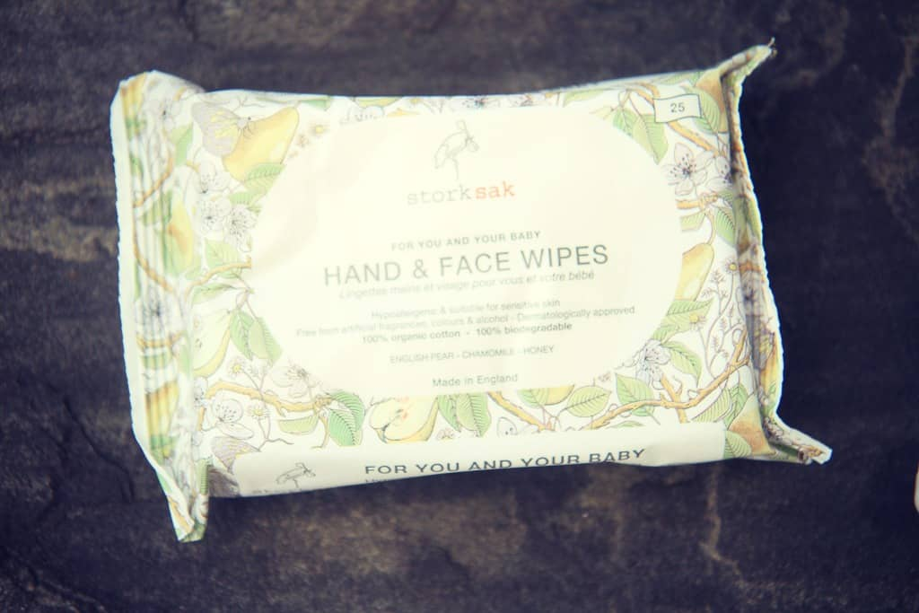 Storksak Organics wipes pack 25