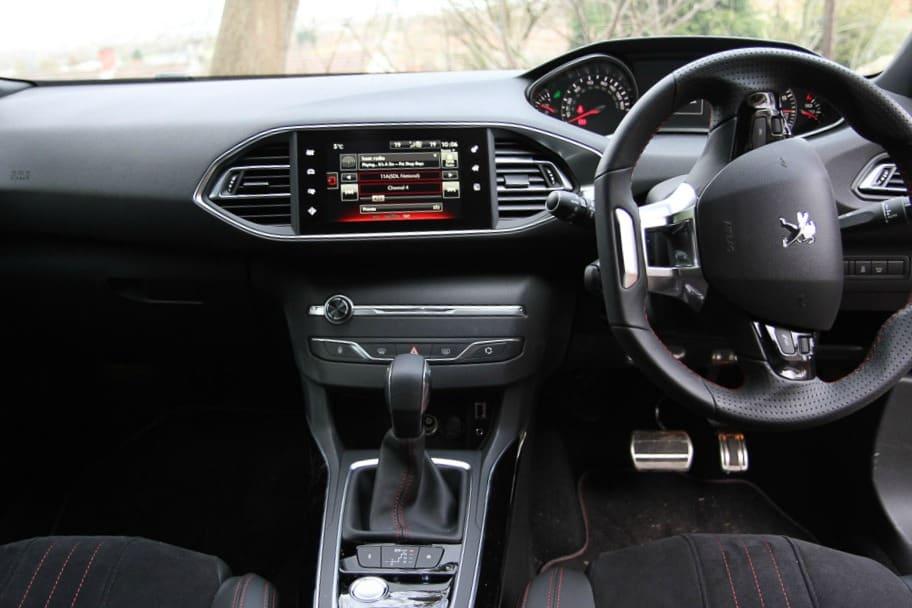 Inside a Peugeot 308 GT
