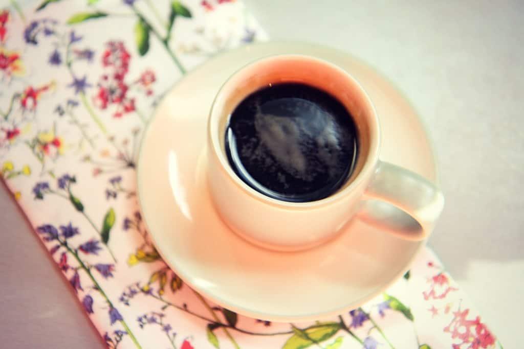 An espresso made with the Aldi coffee capsule machine