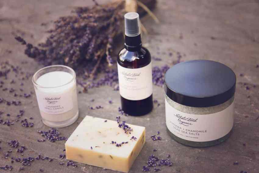 The calm collection from Nathalie Bond Organics