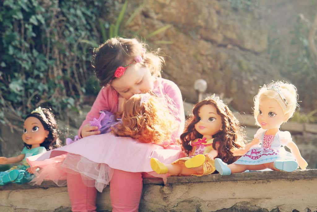 Playing with the Disney Toddler dolls