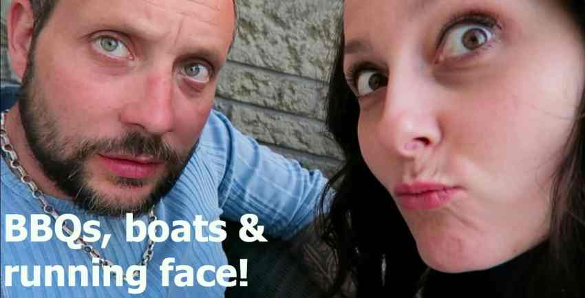 A typical weekend...bbbqs, boats & running face vlog