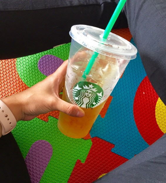 Starbucks Green Tea #FitnessFridays