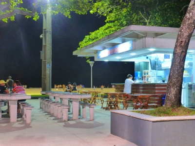 A small paradise – the quiosques in Santos