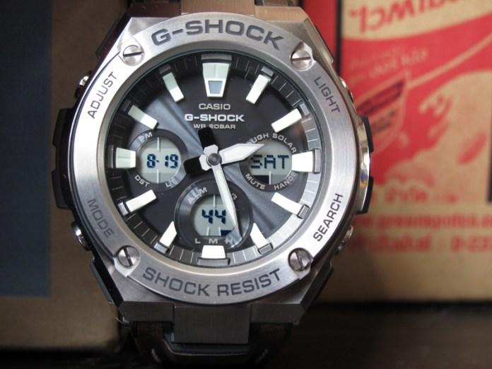 Casio G-Shock GST-S130L-1A : G-Steel เจอสายหนัง