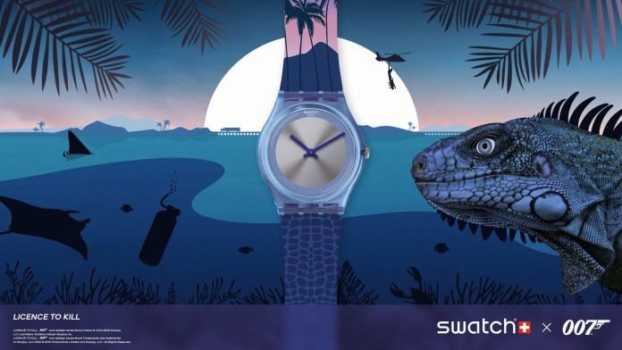 Tribute Collection SWATCH X 007