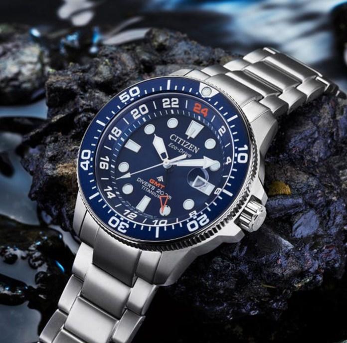 Citizen Promaster Diver GMT 7111 51m lifestyle