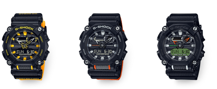 Casio G Shock GA 900A Series
