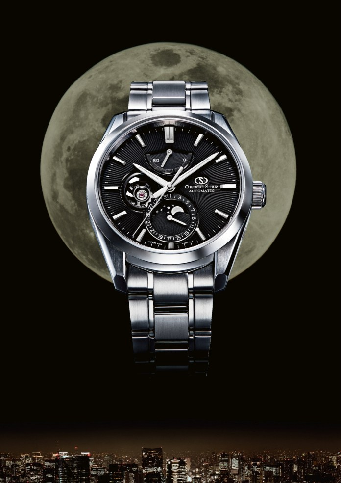 Orient Star New Mechanical Moon Phase OS0002 AY00001B AD