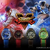Seiko 5 Sports meets Street Fighter V. ลิมิเต็ดเอาใจเกมเมอร์