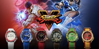 Seiko 5 Sport Street fighter