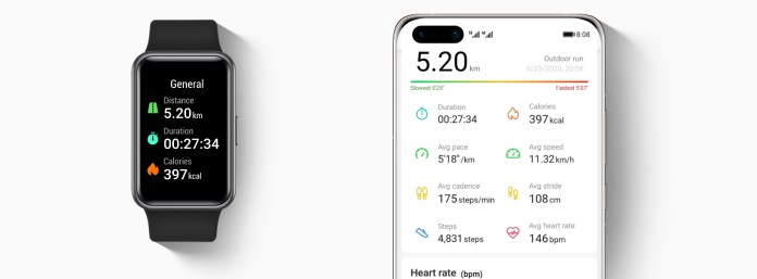 HUAWEI Watch Fit smart workout recognition 1