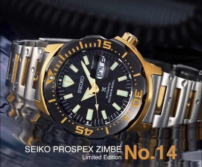 Seiko Prospex SRPF43K Zimbe No.14