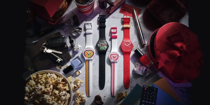 SWATCH 'Valentine's Day Editions For Broken Hearted'