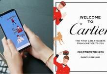 Cartier LINE Official Account