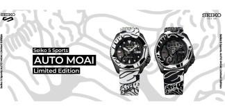 Seiko 5 Sports AUTO MOAI Limited Edition