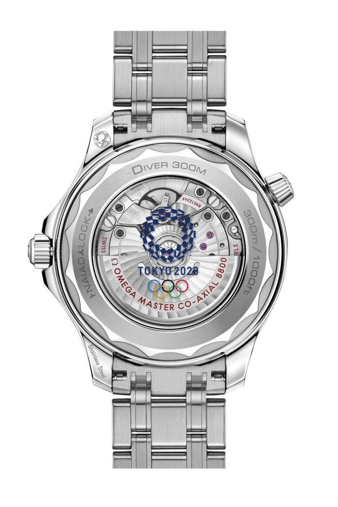 OMEGA Seamaster Collection Olympic 2020