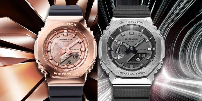 Casio G-Shock GM-2100 & GM-S2100