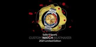 Seiko 5 Sports Custom Watch Beatmaker 2021