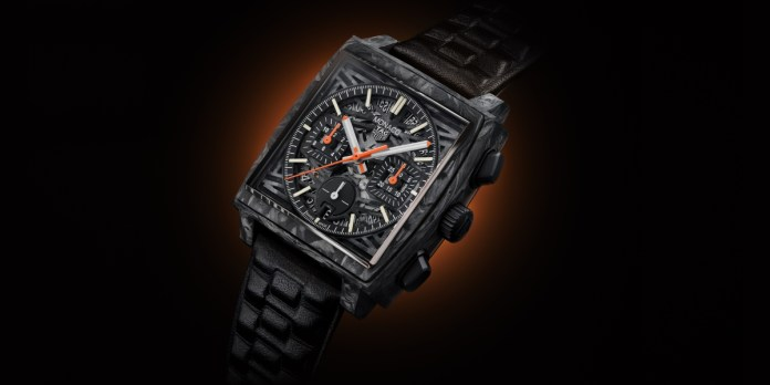 TAG Heuer Monaco 'Dark Lord' Only Watch 2021